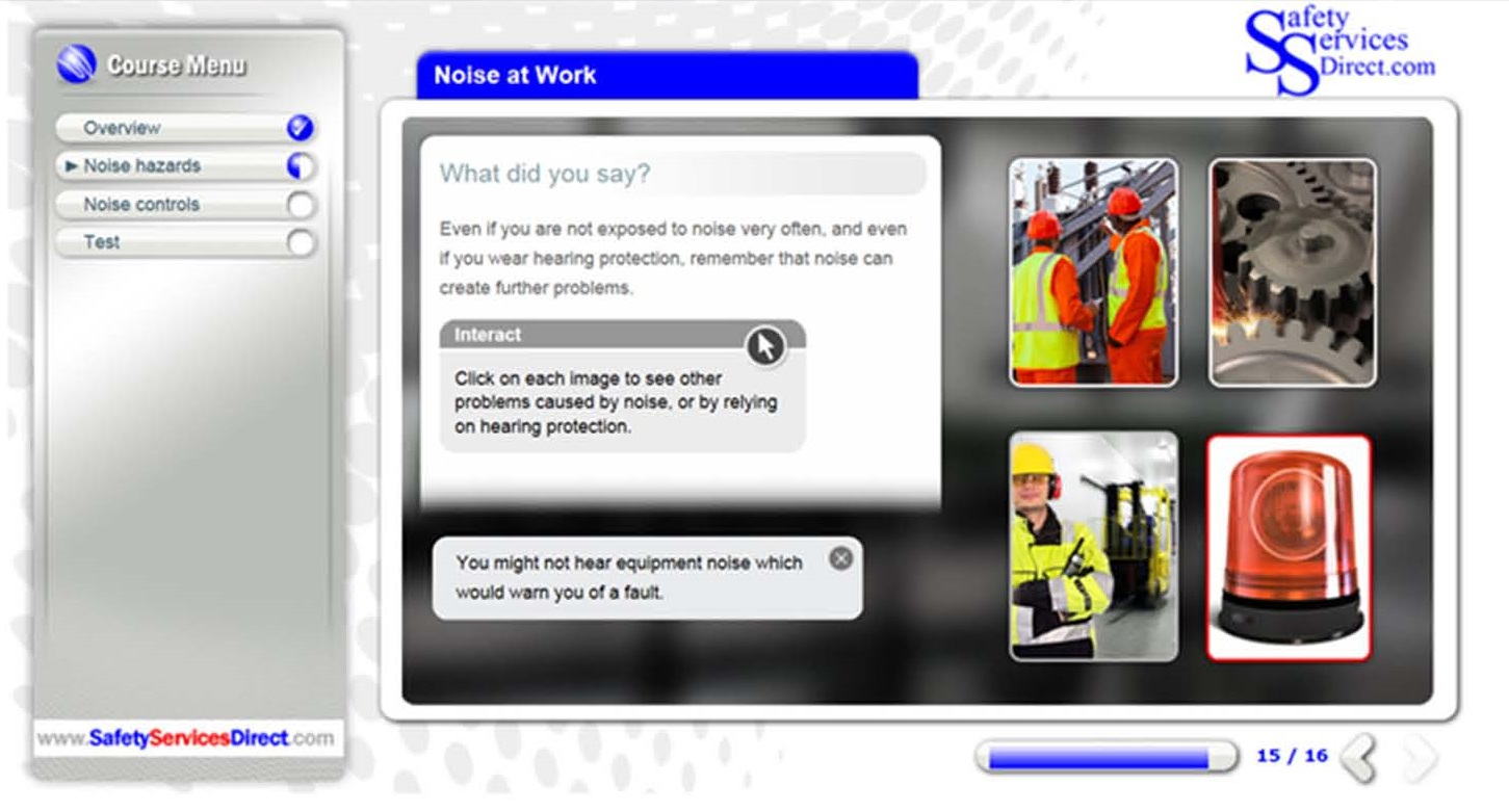 Noise at Work Awareness Training Course   Safety Services Direct